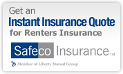 Instant Quote for Renteres Insurance from Safeco Insurance